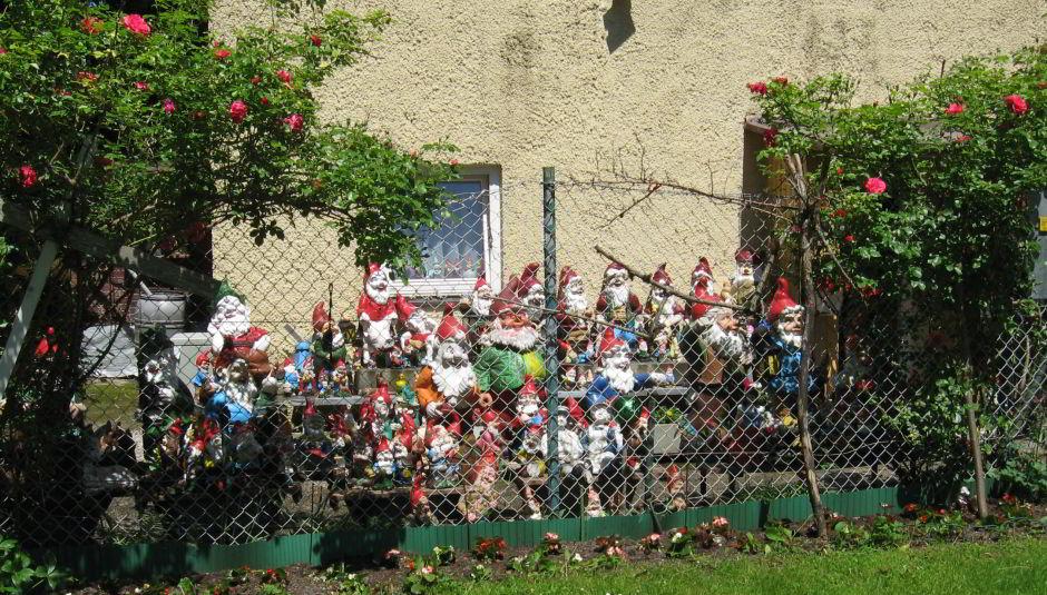 Haus der 40 Gartenzwerge